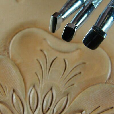 Steel Craft Japan 3-Piece Set, Leather Stamping Tools Thumb Print Stamps