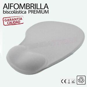 Alfombrilla-raton-premium-biscolastica-gel-apoyo-reposamunecas-Gris