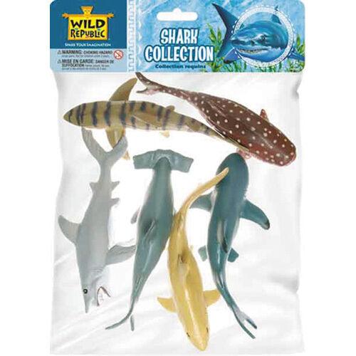 Gioco ANIMALI COLLEZIONE squali Wild Republic