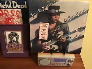 "STEVIE RAY VAUGHAN ""Texas Flood"" ORIGINAL Columbia 1983  LP Vinyl NM Shrink Hype"