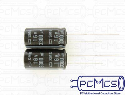 4 x Nippon ChemiCon NCC SMG Series 16V 6800UF Made in Japan Downsized Capacitor