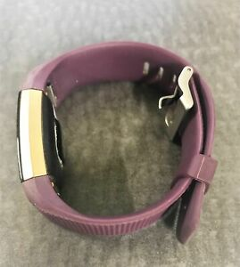 Fitbit-FB407S-Charge-2-Heart-Rate-Fitness-Wristband-gold-color-case-Plum-w005