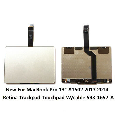 "NEW MacBook Pro 13/"" A1502 Retina Trackpad Touchpad w// cable 593-1657-B 2013-2014"