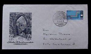 Allemagne - 1988-europa Avion Cover-hildesheim-uropa Airplane Cover-hildesheimfr-fr Afficher Le Titre D'origine