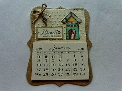 2021 MINI MAGNETIC CALENDAR TEAR OFF PAGES INSPIRATIONAL HOORAY FOR TODAY