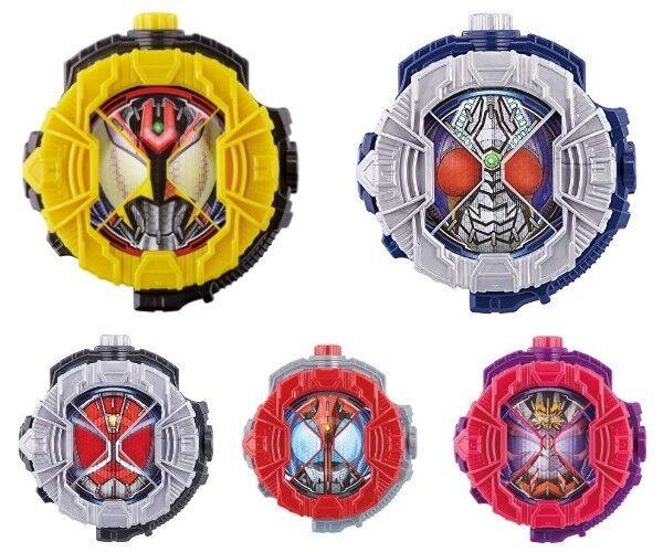Ultraman Zi-O Dx Kiva & Dx Klinge & Kabuto & Hibiki & Zauberer Ritt Uhr 5 Set
