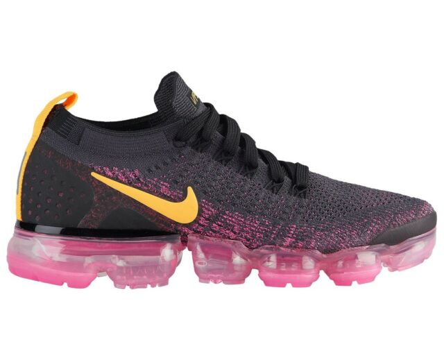 900874839e475 Nike Air Vapormax Flyknit 2 Womens 942843-008 Grey Pink Running Shoes Size  8 for sale online
