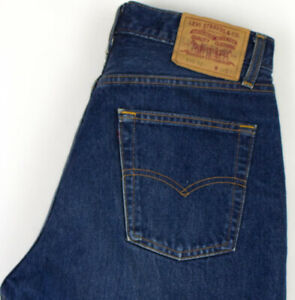 Levi-039-s-Strauss-amp-Co-Hommes-510-02-Droit-Jambe-Slim-Jean-Taille-W32-L28-AGZ351