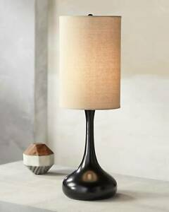 Modern-Table-Lamp-Espresso-Bronze-Droplet-Linen-for-Living-Room-Bedroom