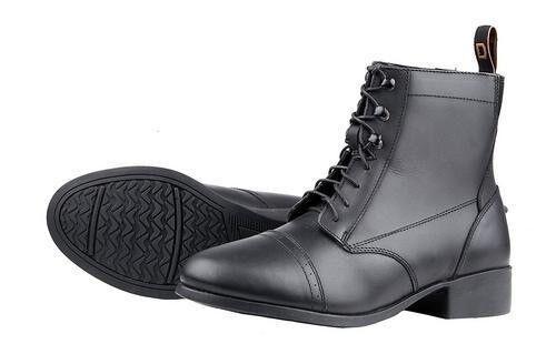Fundación de Dublín señoras ENCAJE Paddock botas De Montar Con Puntera perforada