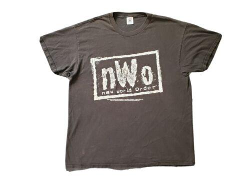 VTG 90s NWO WCW Wrestling T Shirt XL White 1998