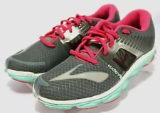 05dd3cc1f83 Brooks  90 Women s Pure Cadence 4 Running Shoes Size 8 Gray Aqua Pink