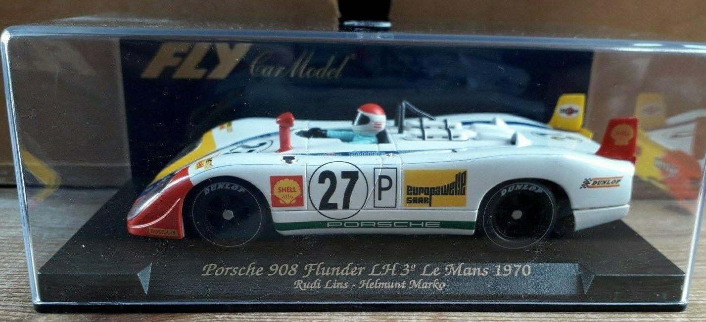 Fly C.49 - Porsche 908 Poissons Plats LH-Le Mans 1970-Casque Marko-NEUF