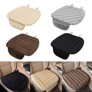 Winter-Plush-Anti-Slip-Car-Seat-Cover-Pad-Lattice-Pattern-Auto-Chair-Cushion-EL