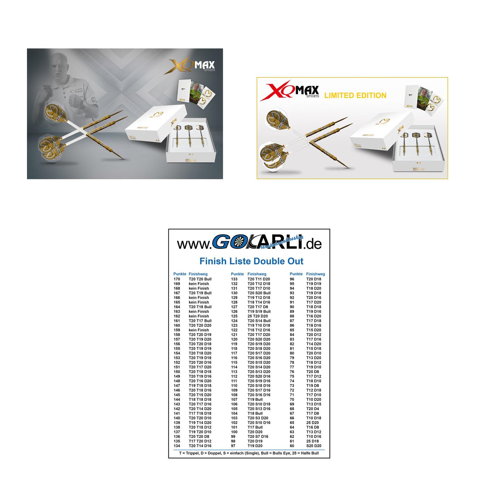 XQMax Michael van Gerwen World Champion 2017 Steel Dart Limited Limited Limited Edition  | Elegant Und Würdevoll  114e0c