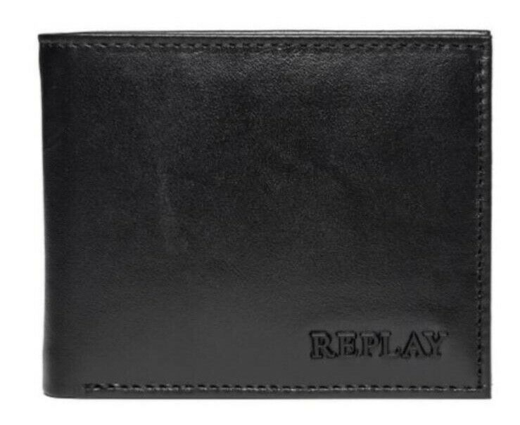 Replay Mens Leather Wallet