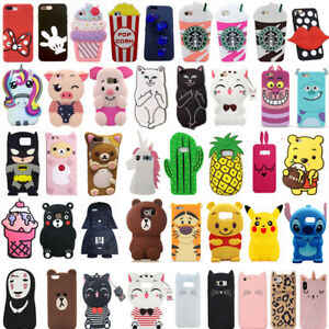For-Samsung-Note-3-4-5-8-9-Cute-3D-Cartoon-Hot-New-Soft-Silicon-Phone-Case-Cover