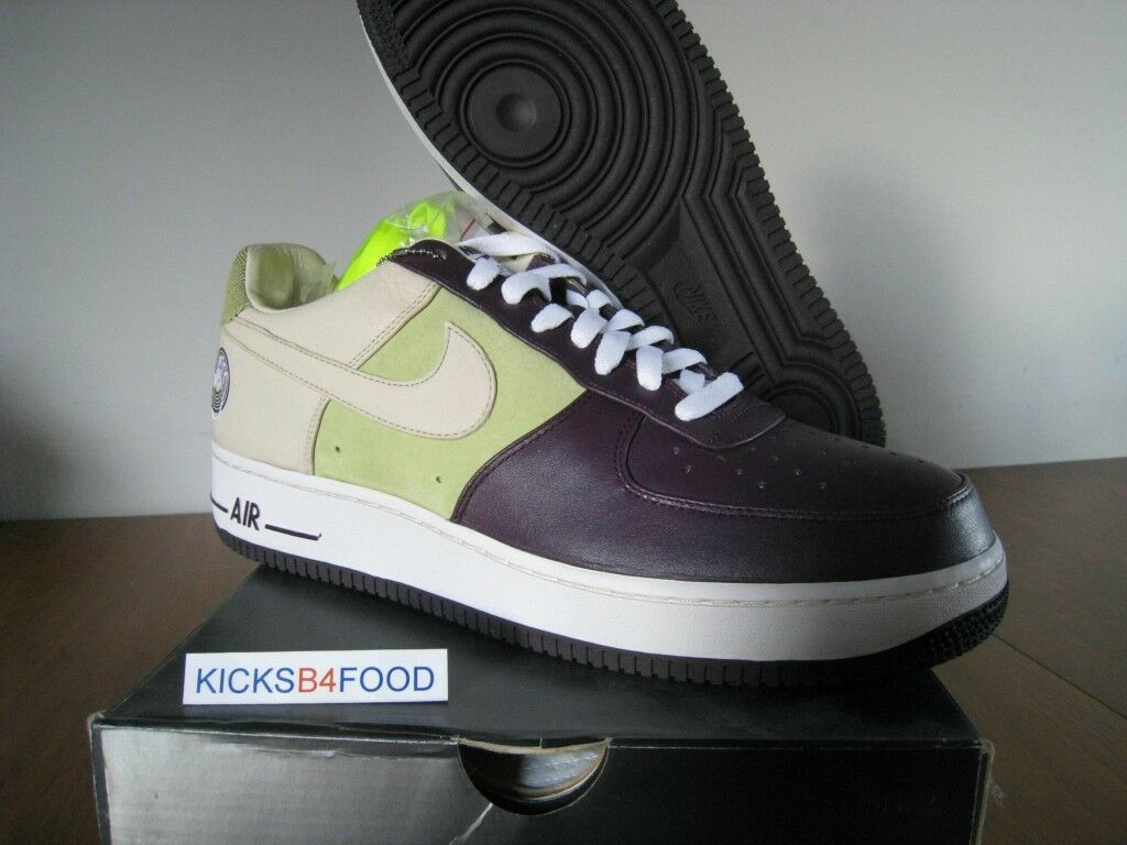DS 2007 Nike Air Force 1 'Bobbito' Garcia 11 COOL LOVE Stash HTM Cucumber Slice