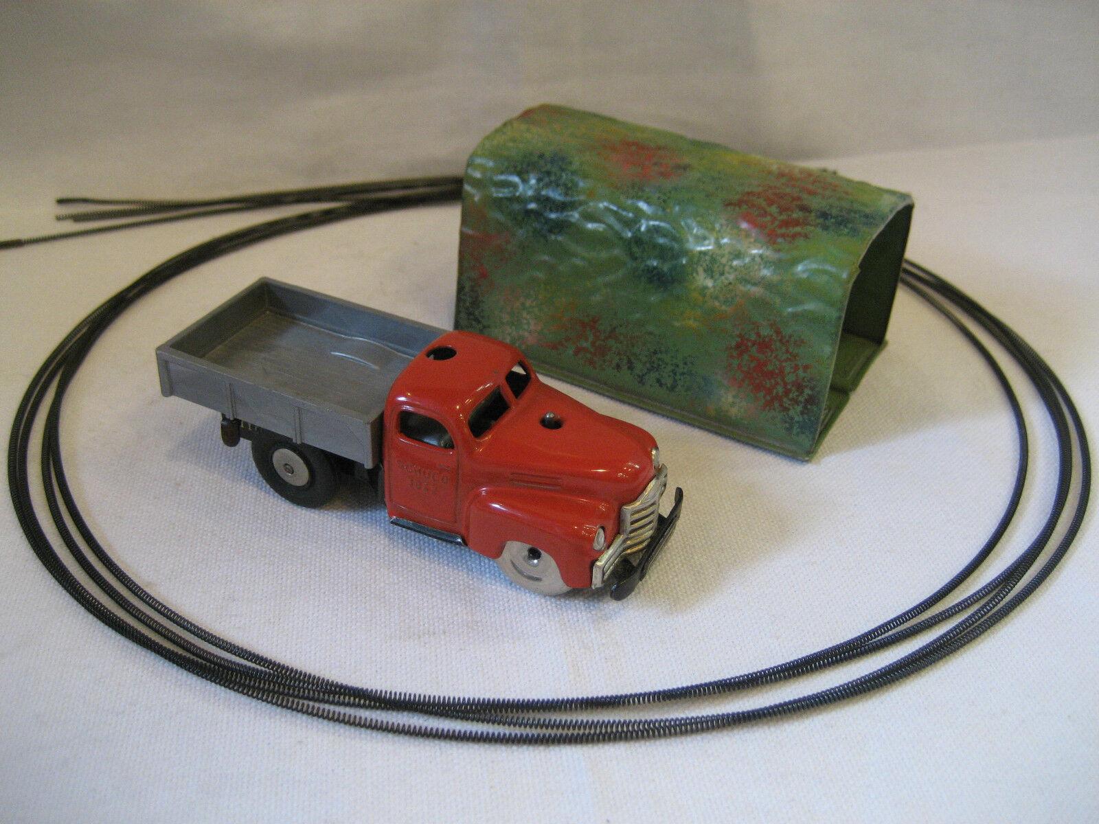 precio razonable Vintage Shuco Varianto Varianto Varianto Lasto W   Tin túnel & guía Alambre 3042 Camión De Juguete Rojo Bonito  grandes precios de descuento