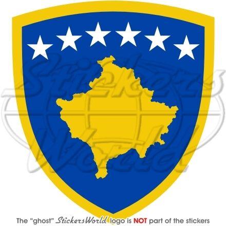 KOSOVO Wappen Kosova KOSOVARISCHE Vinyl Sticker Aufkleber 90mm