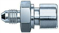 """Earls Fitting Adapter Straight 3AN Male 7//16-24/""""Inv Flare F Hardline 989549"""
