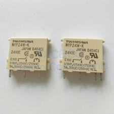 10PCS  Fuji TAKAMISAWA power relay NYP24W-K 24VDC 4 feet 5A Specials