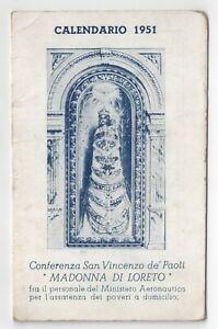 Calendario 1951.Dettagli Su Calendario 1951 Madonna Di Loreto
