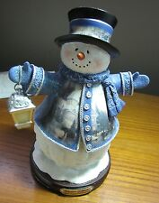 Thomas Kinkade Winter Wonderland Snowman, Bradford Edition, Victorian Christmas