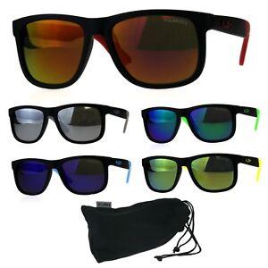 ee1e34509f Image is loading Polarized-Kush-Mens-Rectangular-Color-Mirror-Lens-Sport-