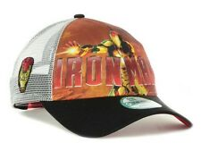New Iron Man Marvel Blast New Era Snapback Trucker 9FORTY Cap Hat