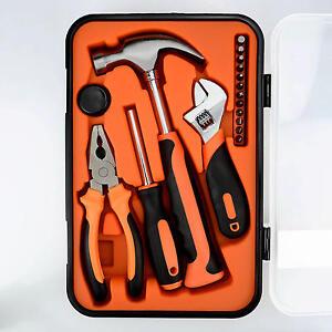 PrimeCables® 17 PCS Repair Tool JY-T10117-B Wrench Screwdriver Hammer Pliers set