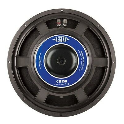 """Eminence Legend CB15 15/"""" Bass Guitar Speaker 8ohm 300W RMS 98dB Replacement"""