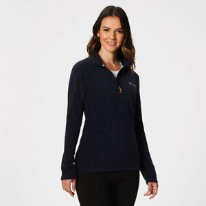 Regatta-Womens-Sweethart-Half-Zip-Fleece-Top-Navy-Blue-Sports-Outdoors