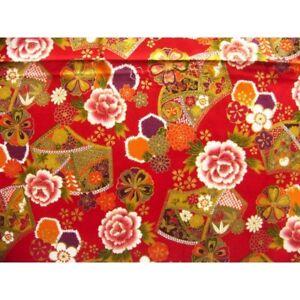 Japanese-tissue-coupon-55x49cm-half-golden-flower-spectrum-red-44-irodori