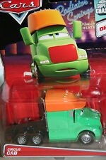 "DISNEY PIXAR CARS ""CIRCUS CAB"" IMPERFECT CARD ,SUPER CHASE,LIMITED TO 4000 UNITS"