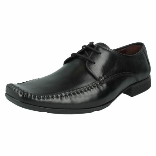 Andar Con Cordones Ferro Fit De Negro G Clarks Hombre Piel Zapatos z5qfwH8