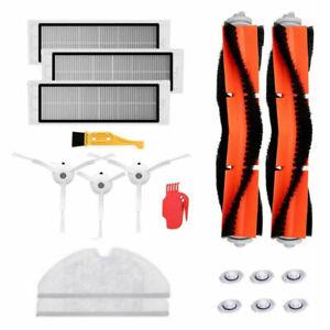 Brosse-Kit-Filtre-Pour-Xiaomi-Mi-Robot-Roborock-S50-S51-Modeles-Aspirateur-Part