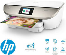 HP OfficeJet 5742 all-in-One Stampante Wireless scansione//copia//fax//WEB//NFC Bianco