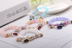 Image Is Loading Ice Korean Style Crystal Charm Bracelet With