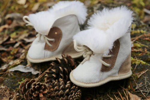 Baby PEAU LAINEE Chaussures-Ourson echtfell Chaussures Pour Enfants Chaussures fellschuhe