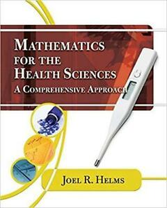 Mathematics for Health Sciences A Comprehensive Approach Canada Preview