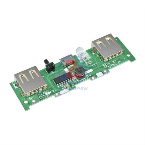 Micro USB 5V 1A 2A Polymer Battery Voltage  Mobile Power Charger Module
