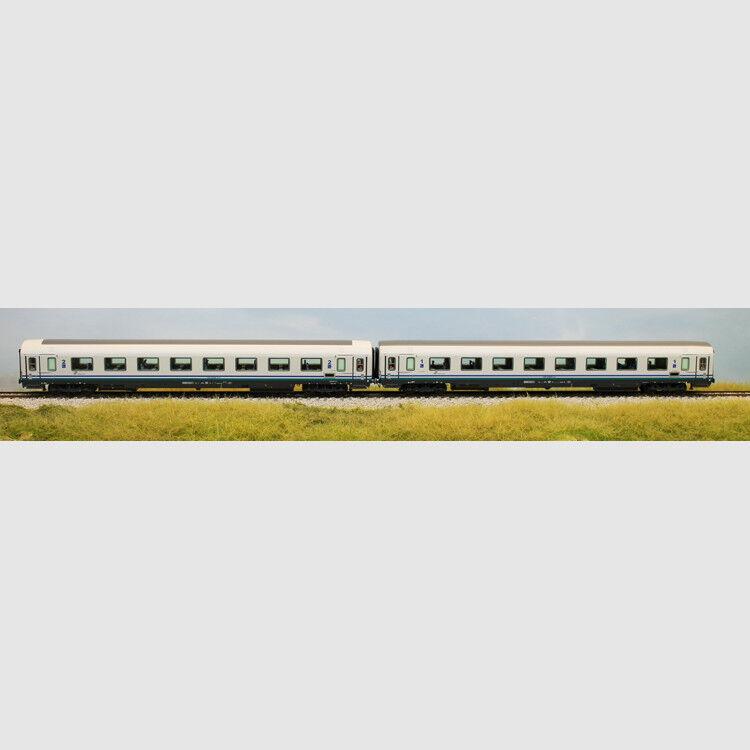 Set 2 carrozze GC nella colorazione XMPR per treni IC - Art. Acme 55133