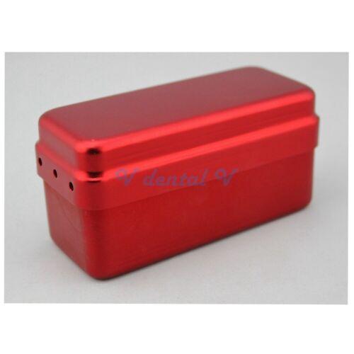 Autoclave Sterilizer Case Dental Aluminium Endo Files Holder Box Block