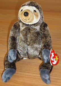 685eda3d5c6 Image is loading Ty-Original-Beanie-Baby-SLOWPOKE-Sloth-w-Tag-