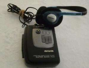 AIWA-HS-TA253-034-Walkman-034-Radio-Cassette-Tape-Player-AM-FM-FMST-Radio-Super-Bass