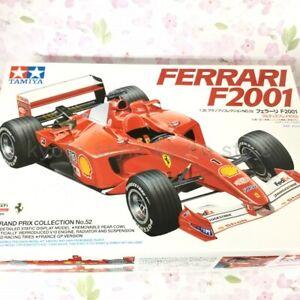 Tamiya-20052-No-52-Ferrari-F2001-1-20-scale-Plastic-Model-kit-JAPAN