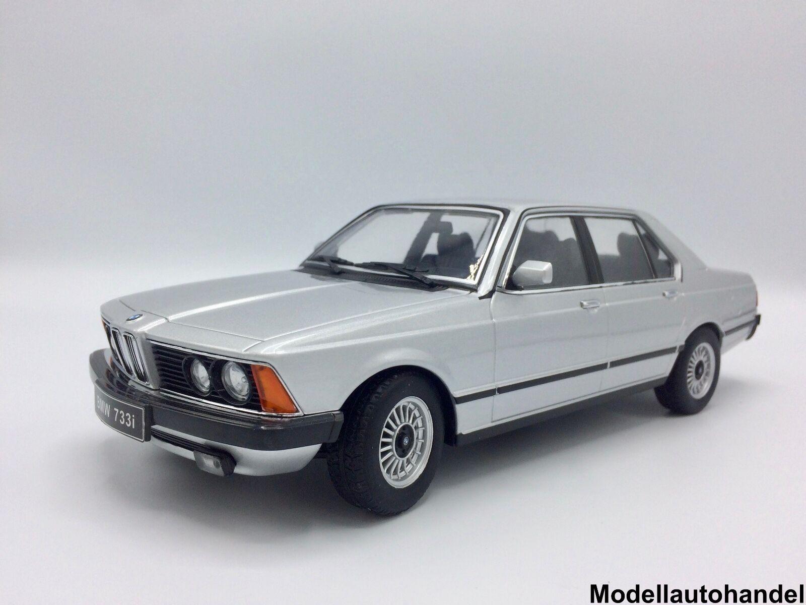 Bmw 733i (e23) de plata 1977 - 1 18 KK-Scale KK-Scale KK-Scale eb6a51