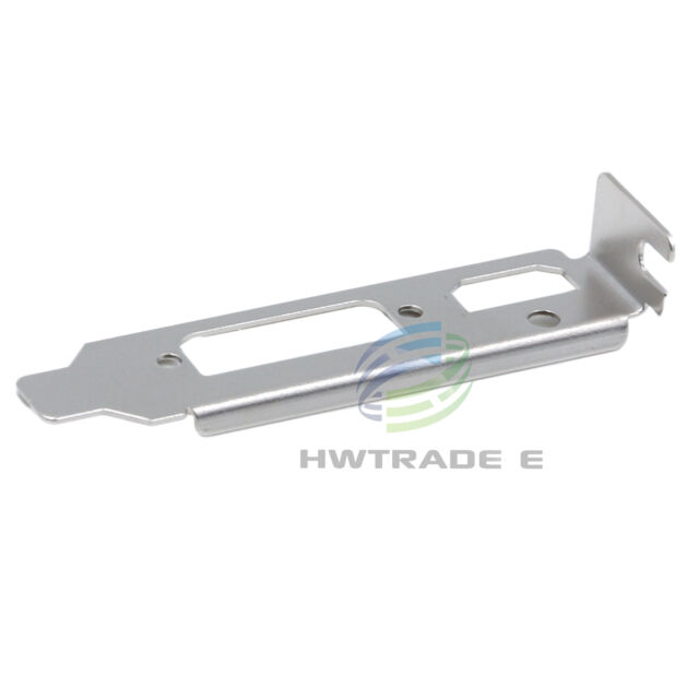 Low-Profile Bracket VGA for NVIDIA AMD MSI Video Graphic Card Adaptor