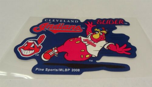 MLB Cleveland Indians Slider Decal Window Static-Cling Sticker Car or Truck